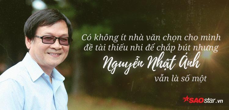 Cảm ơn chú Nguyễn Nhật Ánh, vì đã luôn bảo vệ những kí ức tuổi thơ của bọn trẻ con ngày nào
