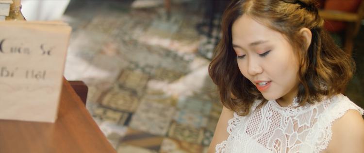 Cô gái đến từ hôm qua (ngoại khúc) do Kim Ngân sáng tác giai điệu, lời thơ Nguyễn Nhật Ánh, hòa âm phối khí Andy và MV được thực hiện bởi Focus Production.