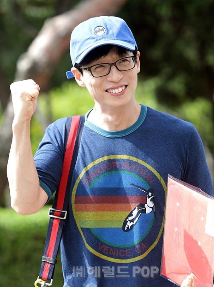 MC quốc dân Yoo Jae Suk hiện là người nhận thu nhập nhiều nhất từ show giải trí.
