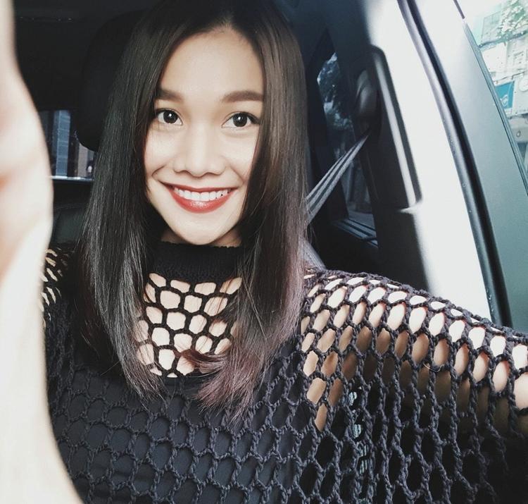 Hình ảnh được Thanh Hằng chia sẻ trên mạng xã hội về sự chuẩn bị cho vai diễn mới.