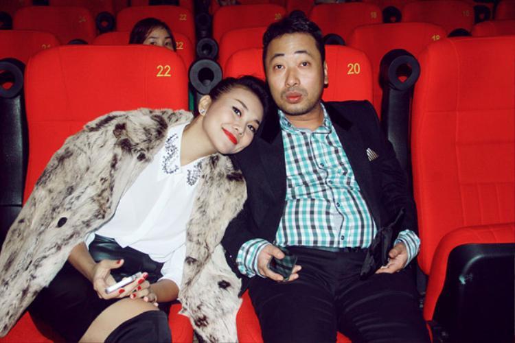Nguyễn Quang Dũng và Thanh Hằng có mối quan hệ thân thiết.