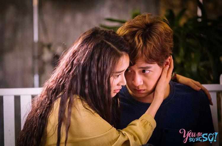 """Nữ diễn viên đóng cặp cùng Ngô Kiến Huy, anh vào vai chàng ảo thuật tài ba trong """"Yêu đi, đừng sợ!""""."""