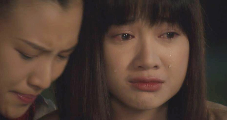 Cảnh khóc gây nhiều cảm xúc cho khán giả của Nhã Phương.