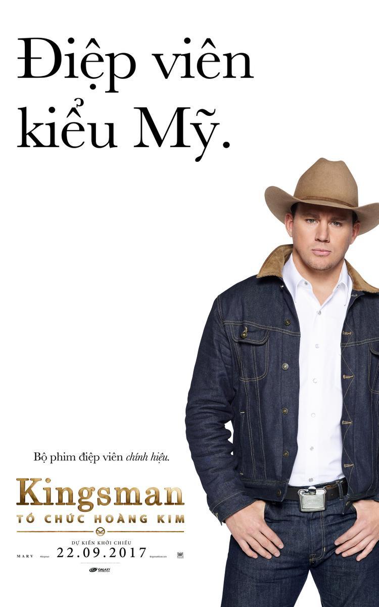 Channing Tatum trong vai điệp vụ Tequila.