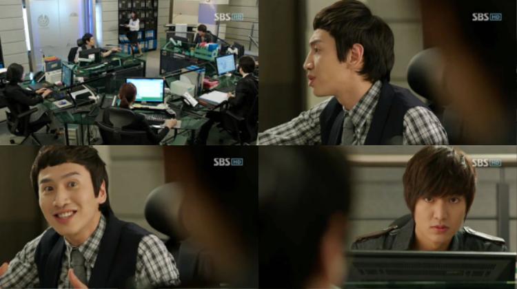 """Trong """"City Hunter"""", nhân vật Ko Ki Joon của Kwang Soo gây ấn tượng với mái tóc ngố."""