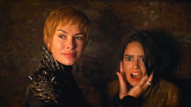 Nữ hoàng Cersei đầu độc Tyenne Sand.