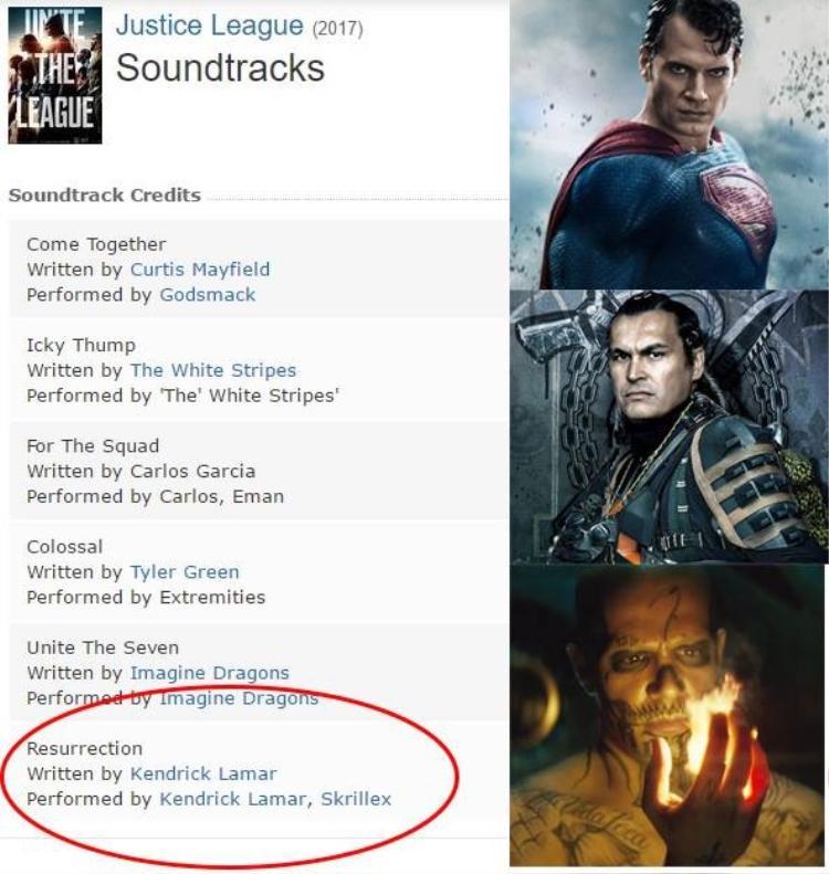 Bên cạnh đó, Resurrection cũng được fan đón nhận không thua kém gì Unite The Seven vì ca khúc thể hiện ẩn ý sự trở lại của Superman.