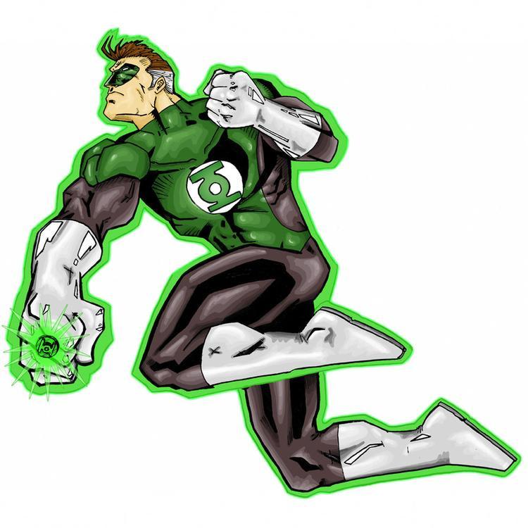 Nhân vật hư cấu trong DC Comic - Green Lantern.