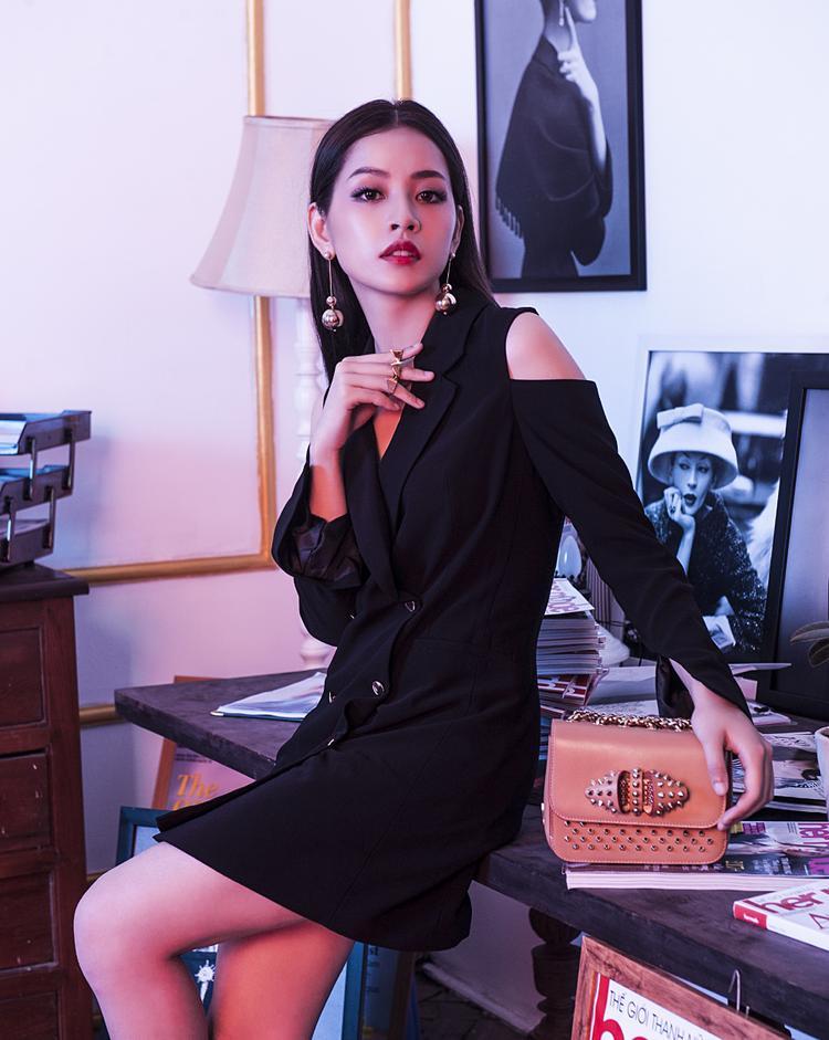Chi Pu trong vai Hạ Linh (Phiên bản Việt của Min Ha-ri).
