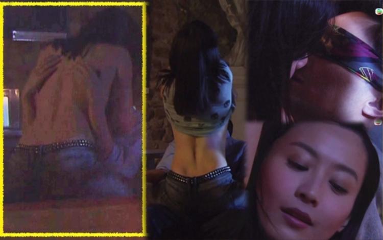 """""""Cảnh nóng"""" của Trương Trí Lâm và Trần Pháp Lai trong """"Bao La Vùng Trời 2"""""""