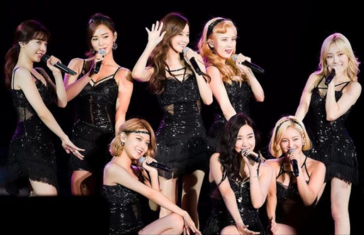 """SNSD - những """"cô gái vàng"""" tài năng của Kpop."""