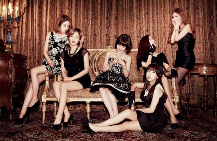 """Hình ảnh xinh đẹp của một trong những """"nữ hoàng"""" hit - T-ara."""