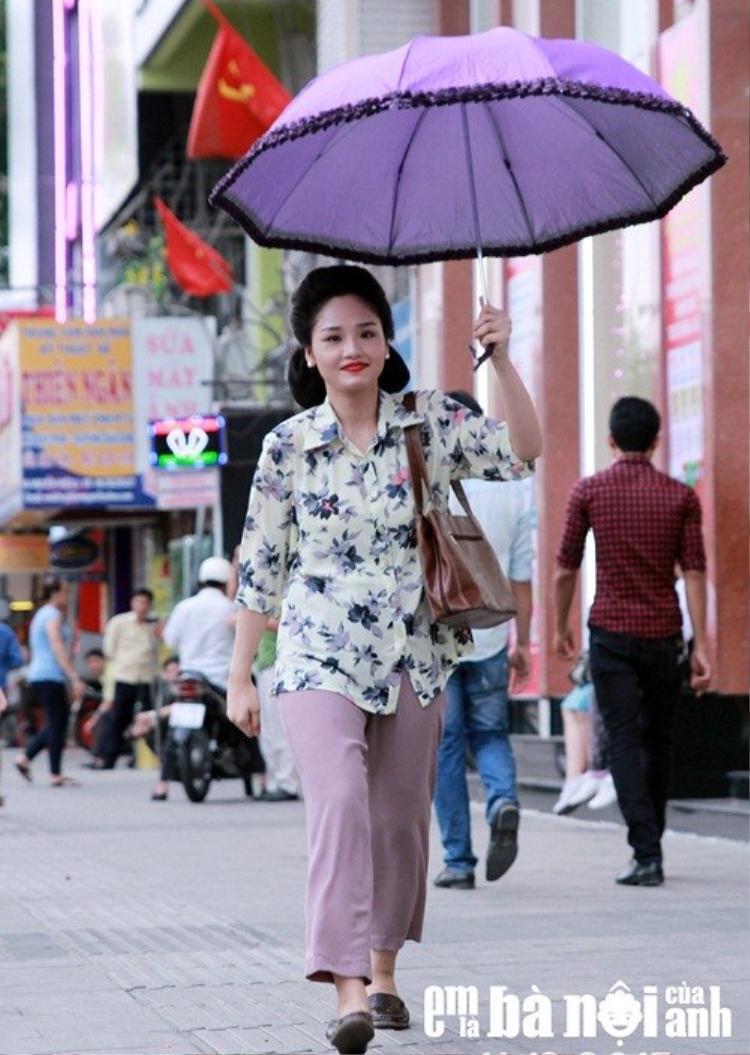 Vai diễn trong phim Em là bà nội của anh đưa tên tuổi Miu Lê vụt sáng trên bầu trời điện ảnh Việt.