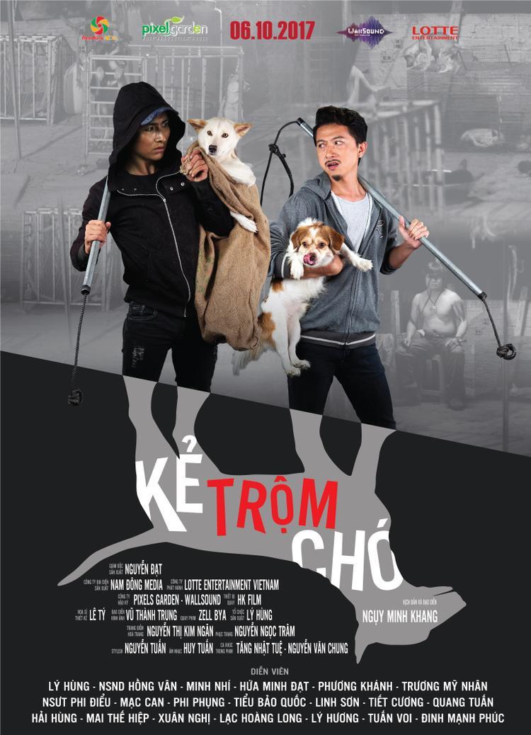Nối gót HLV Lan Khuê, Trương Mỹ Nhân bén duyên với phim điện ảnh về đề tài xã hội trộm chó