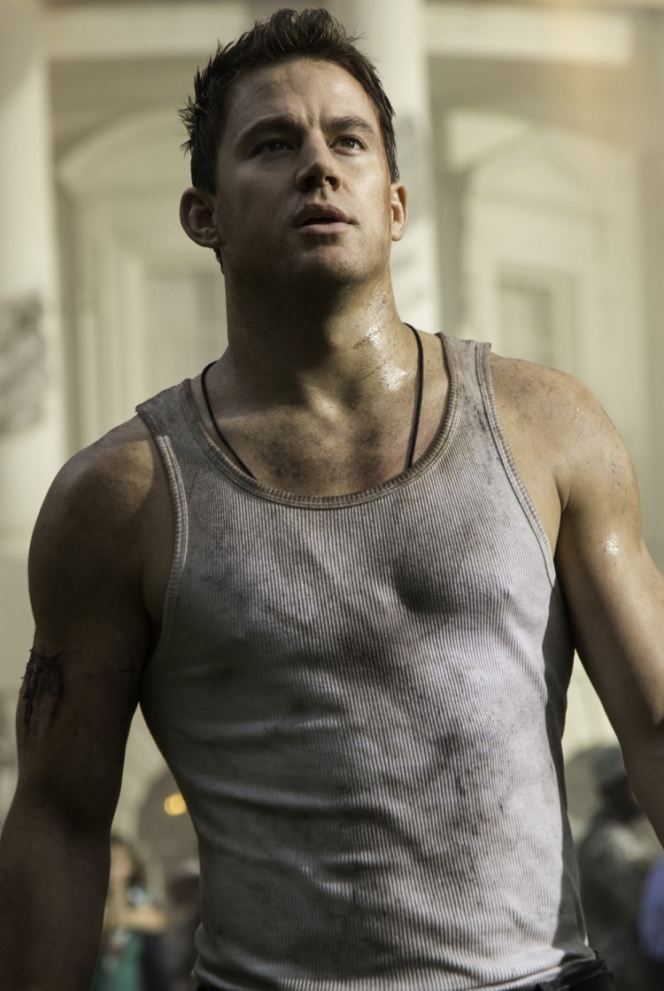"Channing Tatum stars in Columbia Pictures' ""White House Down,"" also starring Jamie Foxx."