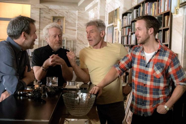Harrison Ford, Ridley Scott, Ryan Gosling, and Denis Villeneuve. Bốn cái tên này thì ngại gì không ra rạp xem phim nào…