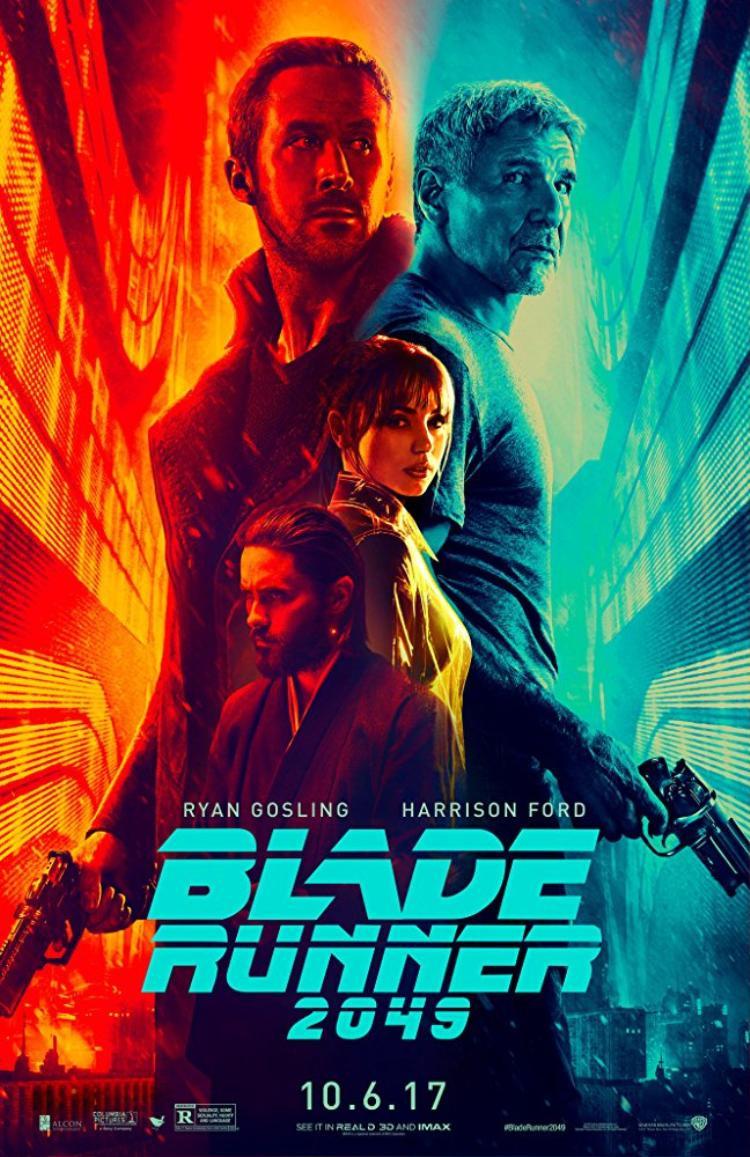 Poster chính thức cho Blade Runner 2049.