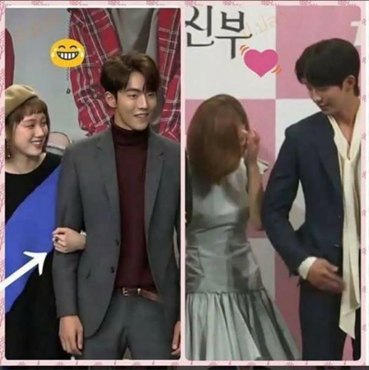 Cư dân mạng cho rằng trong khi Lee Sung Kyung luôn níu tay Nam Joo Hyuk thì anh chàng lại là người chủ động khi đi cùng Shin Se Kyung.