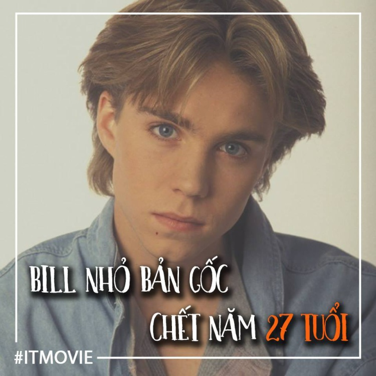 và sao chúng ta quên được cái chết của Jonathan Brandis - người đóng vai lúc nhỏ của Bill trong IT 1990 đã treo cổ tự sát vào năm 27 tuổi.