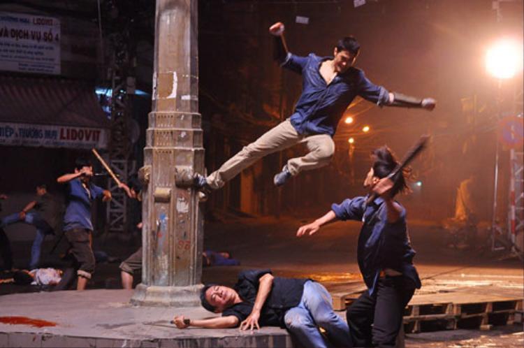 Trước đó,Bụiđời Chợ Lớn từng gặp rắc rối với những cảnh đánh đấm trong phim.