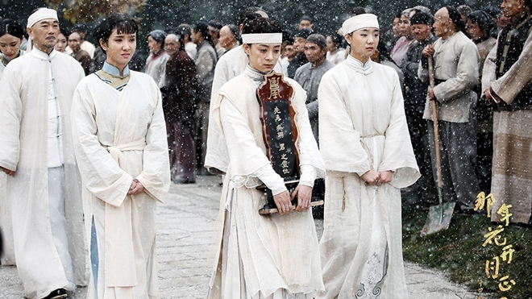 Phân cảnh đám tang của Ngô Sính khiến nhiều khán giả đau lòng thương xót cho Châu Doanh.