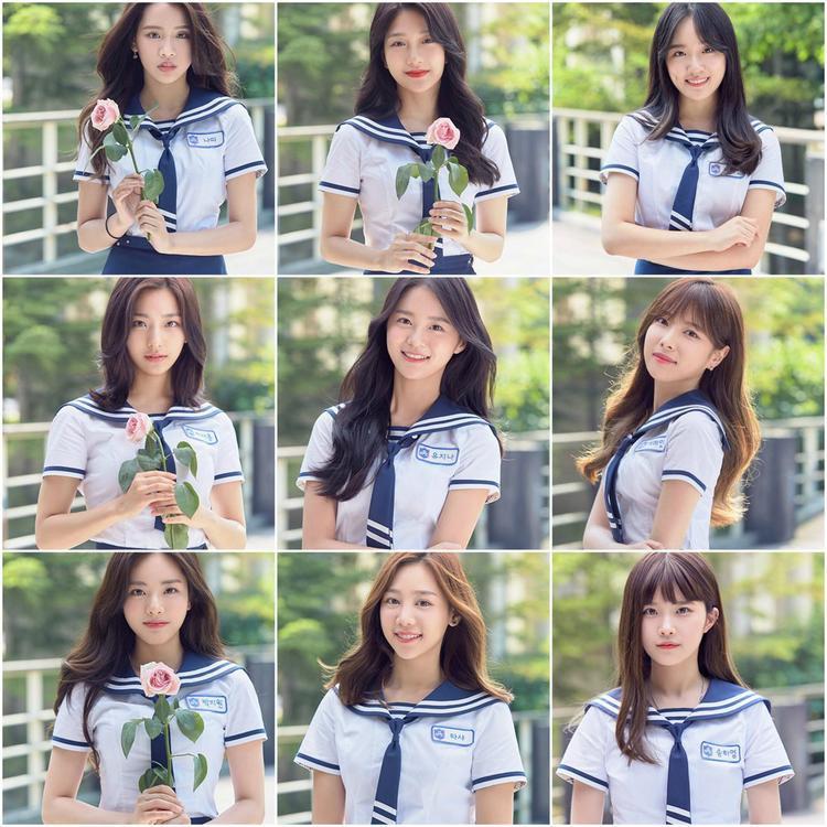 9 cô gái được đồn đoán sẽ là đội hình chính thức của chương trình. (1/2 là TTS của Big 3)