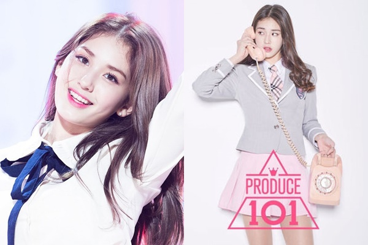 Somi đến với Produce 101 với danh nghĩa thực tập sinh JYP.