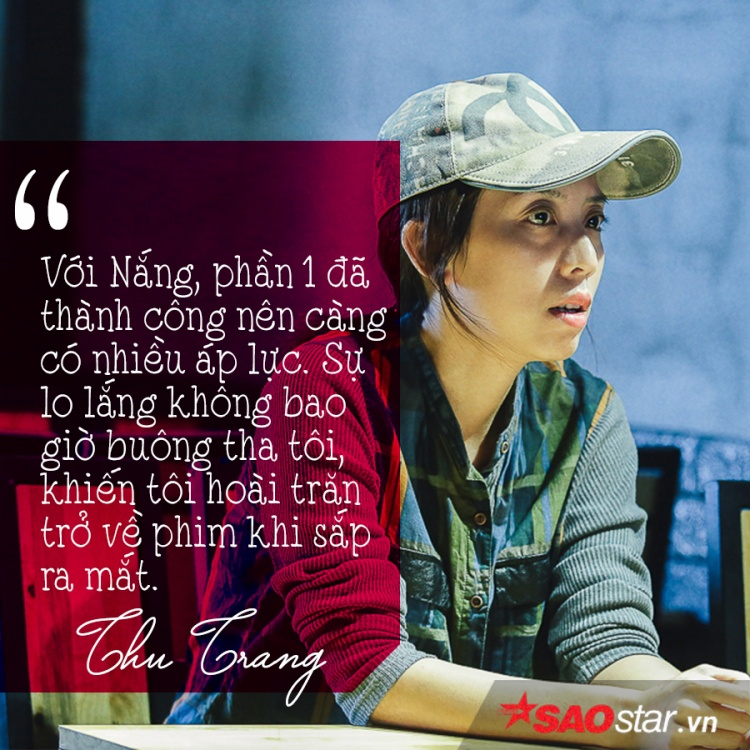 Thu Trang: Người diễn viên cần đặt cái tâm vào bộ phim của mình
