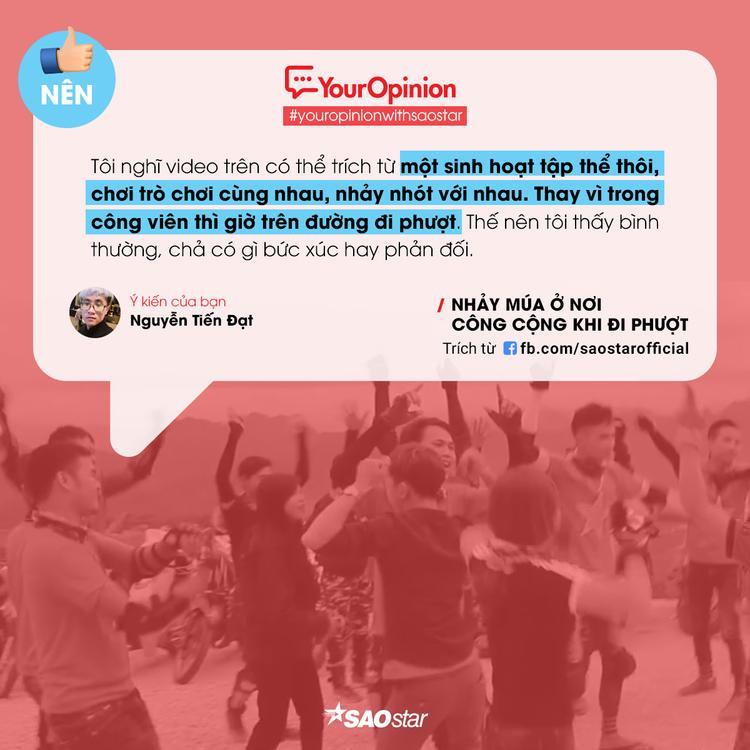 #YourOpinion: Cư dân mạng nói gì về clip phượt thủ quẩy nhạc tưng bừng bên lề đường?