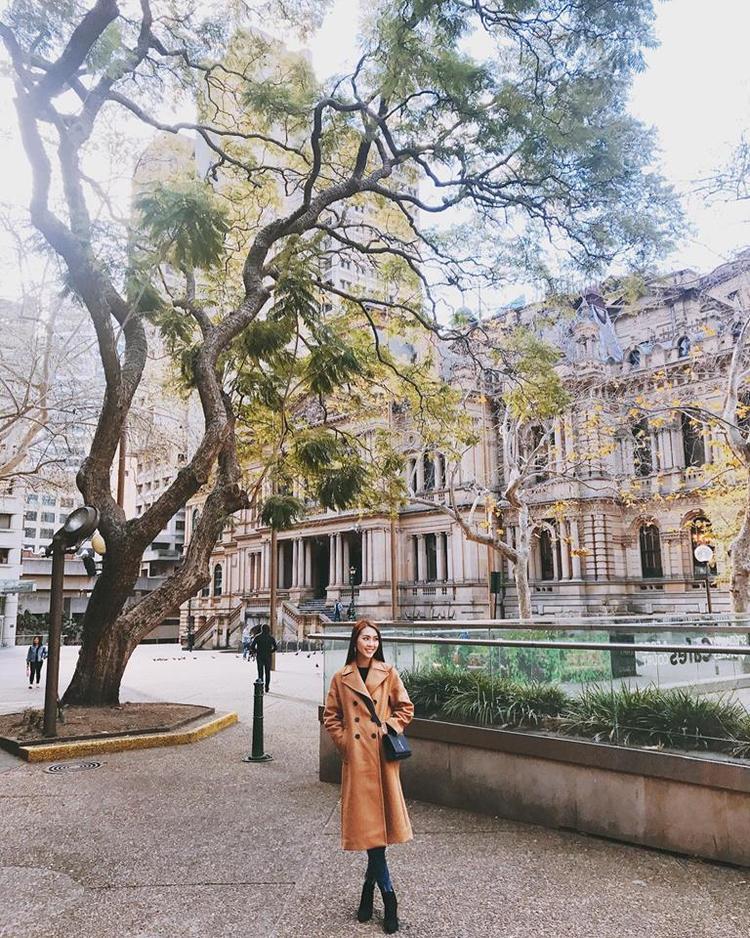 Sau chuyến du lịch, Tường Linh trở về Việt Nam để tiếp tục với công việc và kế hoạch chuẩn bị cho Hoa hậu Liên lục địa 2017.