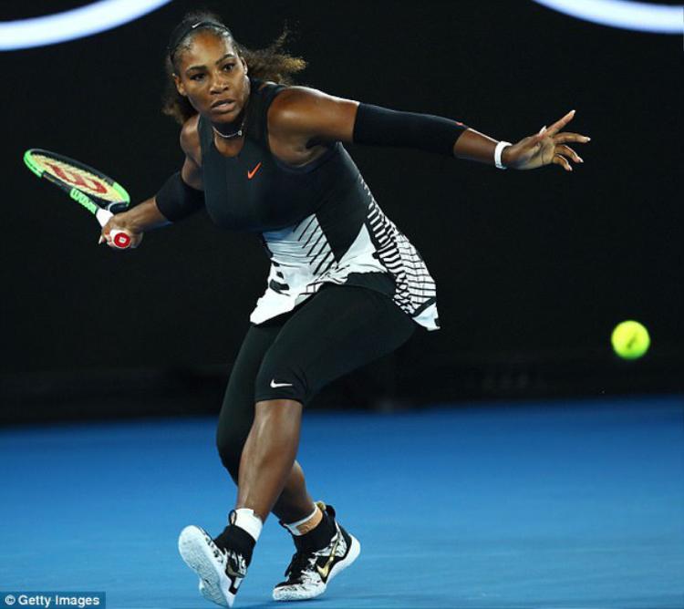Mang thai được 8 tuần, Serena Williams vẫn vô địch Australia Open 2017