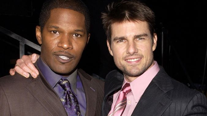 Jamie Foxx từng diễn cùng Tom Cruise trong Collateral.