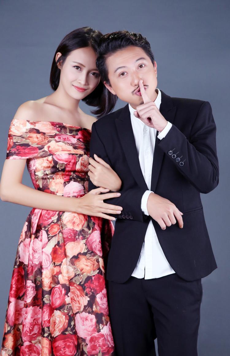 Trương Mỹ Nhân và bạn diễn Hứa Minh Đạt.