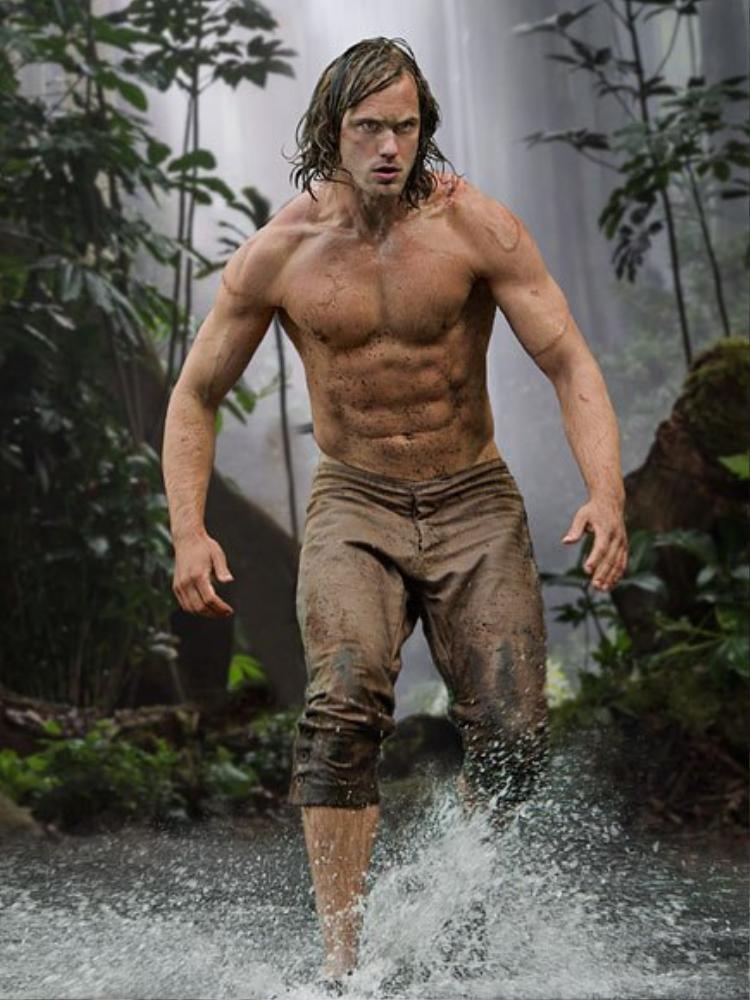 Alexander Skarsgard chính là Tazan trong The Legend of Tarzan (2016).