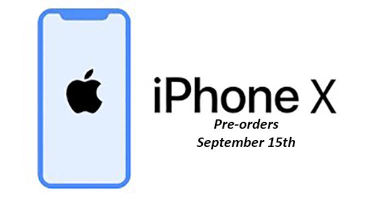Apple cho phép người dùng đặt trước iPhone X chỉ sau 3 ngày ra mắt?