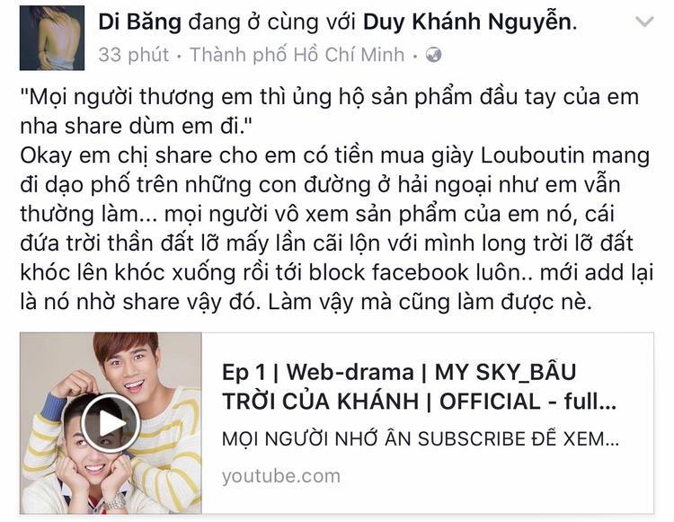 Sao Việt lẫn khán giả nước ngoài hết lòng ủng hộ phim của Duy Khánh