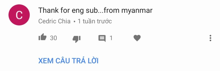 Khán giả Myanmar.