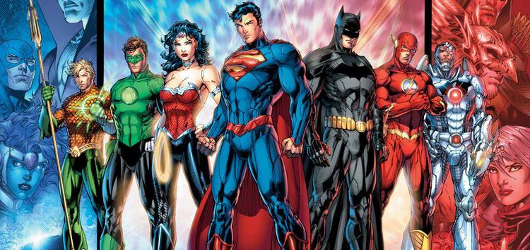 Justice League với 7 thành viên.