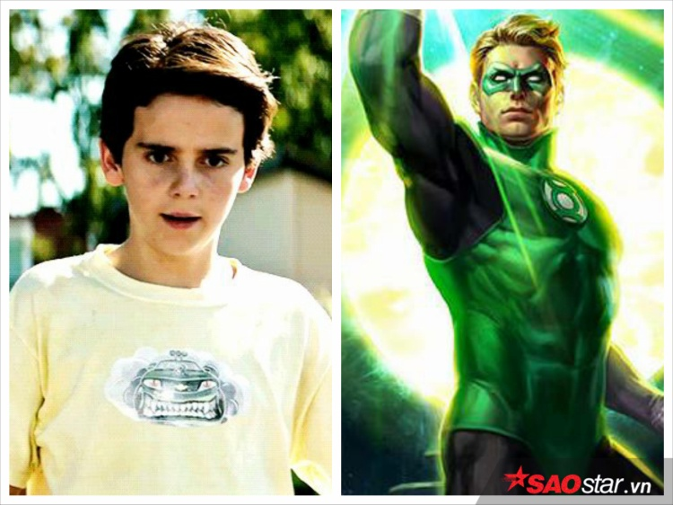 Eddie có nét giống với Green Lantern vì cùng có… số nhọ phải băng bó.