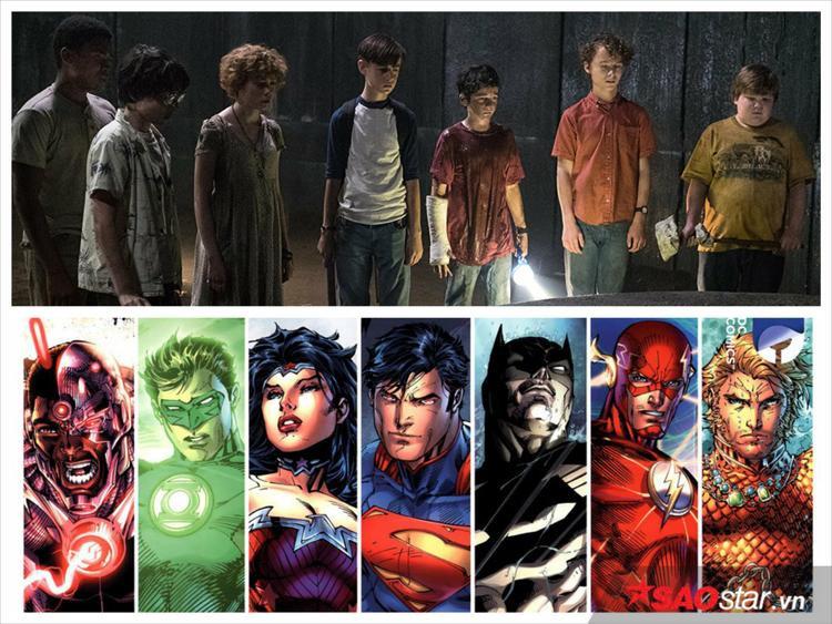 """Sự trùng hợp thú vị về """"7 anh chị em siêu nhân""""."""