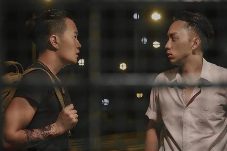 Lương Mạnh Hải và La Quốc Hùng trong Hotboy nổi loạn 2.