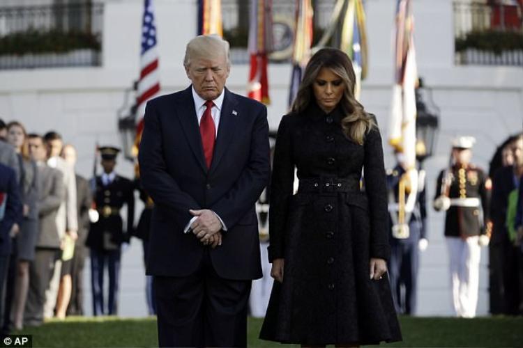 Lễ tưởng niệm 11/9 đầu tiên của Tổng thống Mỹ Donald Trump