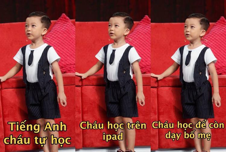 """Những câu trả lời dõng dạc và đầy tự tin của cậu bé """"ốc tiêu"""" Quang Bình"""