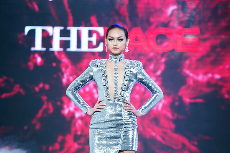 Hình ảnh Mai Ngô khi tham gia Gương mặt thương hiệu 2016.