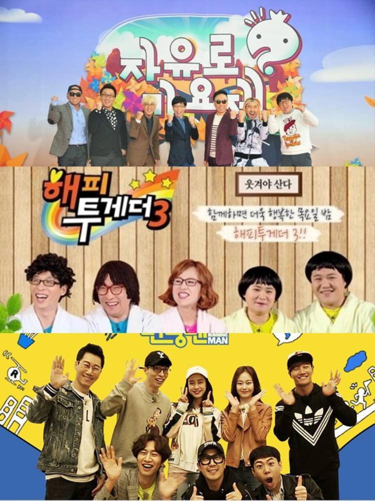 Yoo Jae Suk đang giữ vai trò chủ trì của 3 show hot nhất của truyền hình Hàn.