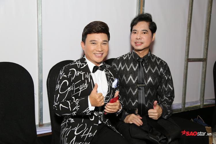 Hai nghệ sĩ gạo cội Quang Linh và Ngọc Sơn sẽ đảm nhận vai trò cố vấn cho các thí sinh trong chương trình này.