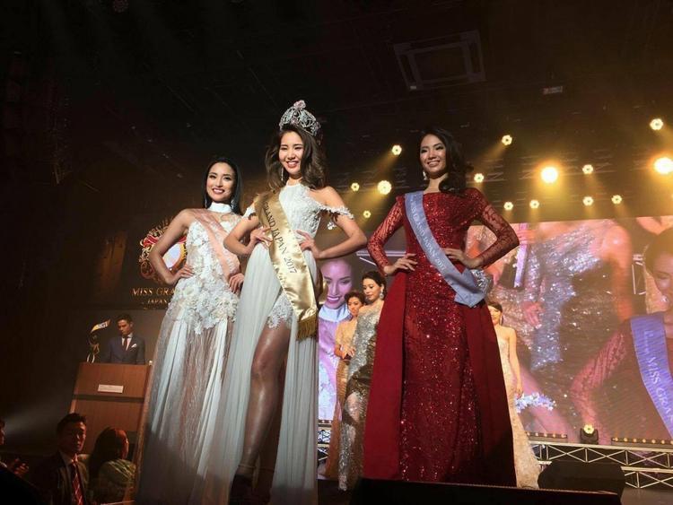 Ngôi hậu được trao cho người đẹp Erika Tsuji - người đại diện Nhật Bản sang Việt Nam tham dự Miss Grand International.