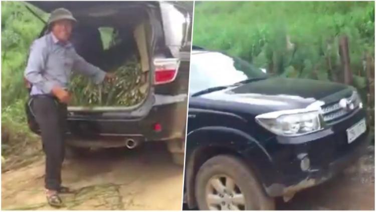 Clip: Nông dân Sơn La mang xe ô tô tiền tỷ đi chở cỏ cho bò gây sốt mạng xã hội