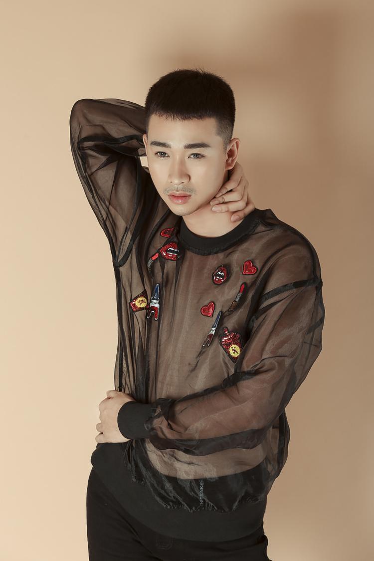 Hải Triều: Là phận diễn viên, dù là vai nam hay giả nữ, vai nào tôi cũng diễn