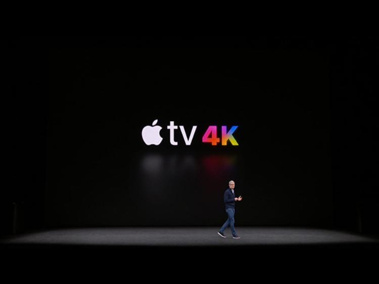 4K là độ phân giải của Apple TV thế hệ mới.